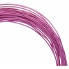 Aluminum Wire 18ga (1.2mm) 30ft Round Fuchsia